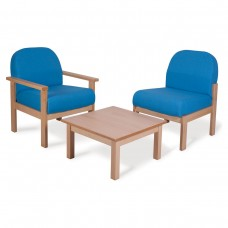 Wooden Frame Reception Seating