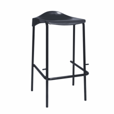 Lipped Top Poly Stool