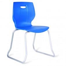Geo Skid Frame Classroom Chair