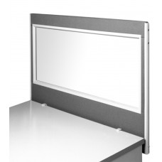 Acrylic Vision Desk side mounted Medical Screens