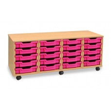 Tray Storage Units - 4 Column