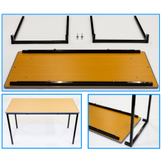 FLAT PACKED CLASSROOM TABLES