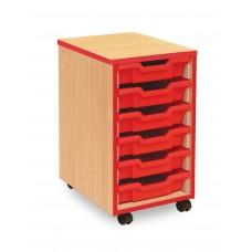 Tray Storage units (6,12,18,24 + jumbo) - Coloured Edge