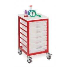 MOBILE METAL FRAMED TRAY STORAGE UNITS