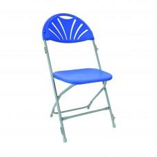 Fan back folding chairs