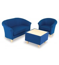 DELUXE FABRIC TUB SEATING