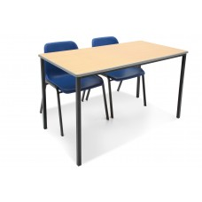 Cast PU Edge Classroom tables - Fully welded frames