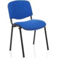 Club ISO Stacking Chair - Black Frame