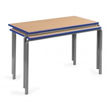PVC Edge tables with Crush bend frames