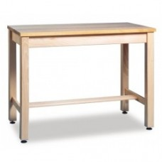 SOLID BEECH H FRAMED SCIENCE TABLES